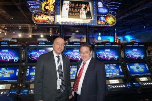 Max Pessnegger and Johannes Weissengruber of APEX gaming at the ICE 2014