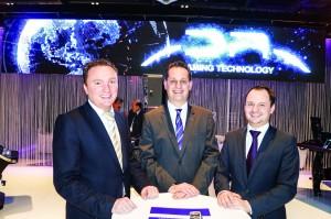 Joost van Egeraat, Jurgen De Munck and Jean-Michel De Busscher at the ICE 2014