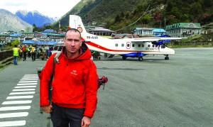 Pe aeroportul din Lukla, catre Everest