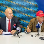 Niki Lauda _i Valentin Adrian Georgescu, CEO al NOVOMATIC_ Group România