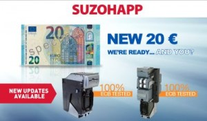 SUZOHAPP news on the new 20 euro banknote