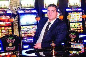 poza Anton Mihov, General Manager of Palms Merkur casinos