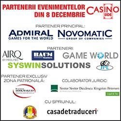 Parteneri Evenimente CASINO Inside - 8 Decembrie