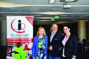 Echipa de psihologi a programului Joc Responsabil formata din Steliana Rizeanu, Cristian Andrei, Leliana Parvulescu
