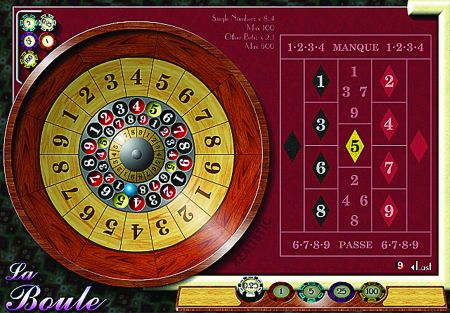 La Boule, the French cousin of roulette