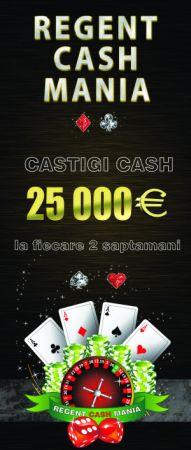 """""""Regent Cash Mania"""", noua promoție de la Regent Casino"""
