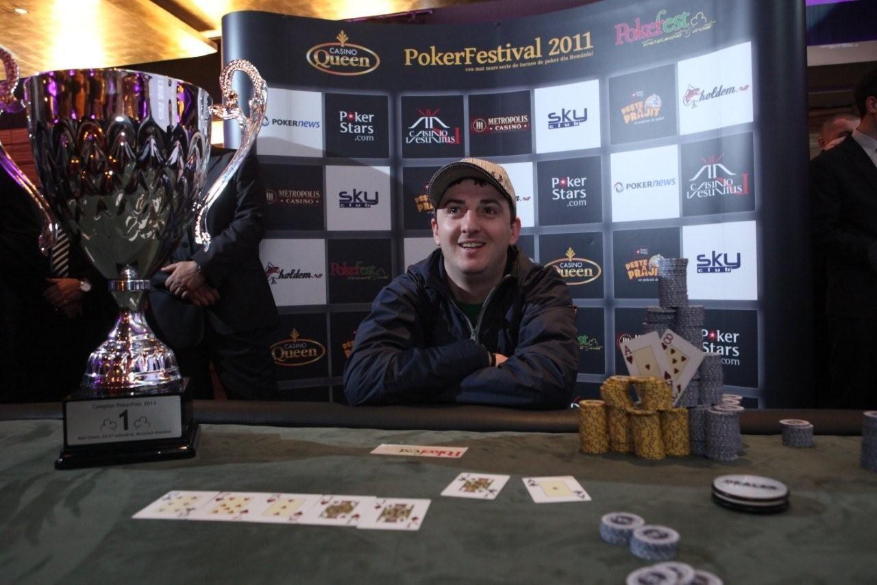 Valentin Anghel a castigat Pokerfest Bucuresti Main Event