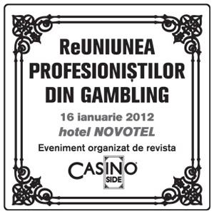 ReUNIUNEA PROFESIONIȘTILOR DIN GAMBLING, primul eveniment de gen din Romania dedicat gamblingului transmis live pe internet
