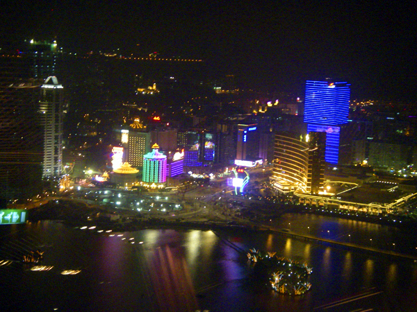 Macau revenues, not the expected one