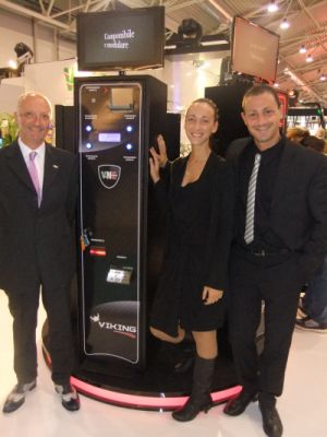 VNE with leading change machine solutions at ENADA Roma 2012