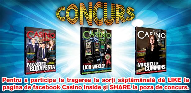 CONCURS CASINO INSIDE