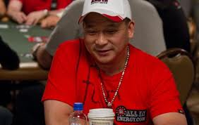 Johnny Chan, a poker legend