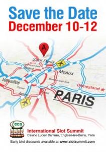 Summitul Internațional al Sloturilor  Lucien Barriere Casino, Enghiens-les-Bains, Paris, Franța