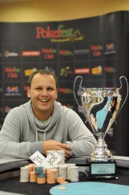 Gabriel Chiva a câștigat Main Eventul PokerFest București, Noiembrie 2013