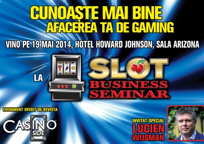 SLOT BUSINESS SEMINAR  19 MAI 2014, HOTEL HOWARD JOHNSON, Sala Arizona