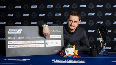 Main Event-ul EPT 10 Viena, un regal pokeristic cu Oleksii Kohoroshenin în poziția de câștigător