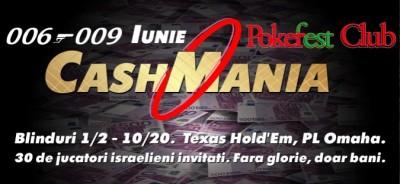 O noua atractie in viata pokerului din capitala: CashMania PokerFest!