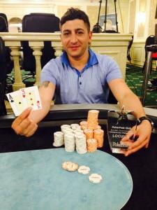 Weekend-ului PokerFest editia 13-15 iunie s-a incheiat cu victoria lui Lucian Mantu!