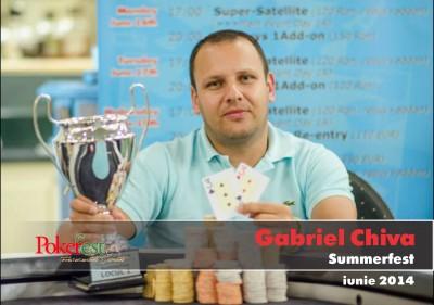 Gabriel Chiva a castigat Main Eventul SummerFest!