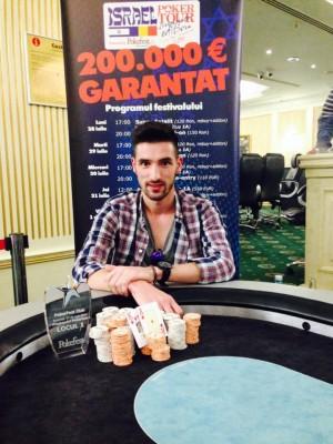 Weekendul PokerFest a adaugat un nou campion pe lista castigatorilor PokerFest – Andrei Craciunoiu!
