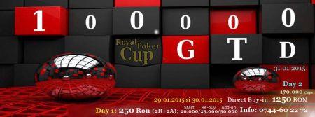 Royal Poker Cup, 100.000 de lei garantați la finalul lunii în Cluj-Napoca