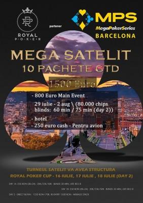 (Română) Royal Poker face echipa de 10 pentru Barcelona !!