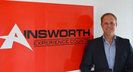 Franz Plasser s-a alăturat lui Ainsworth UK
