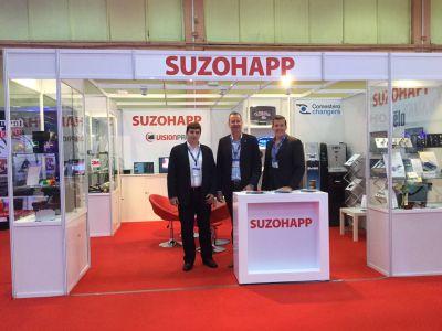 SuzoHapp, prezență în forță în România