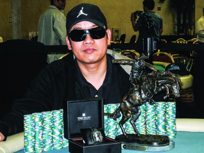 Jerry Yang, a player with a certain distinctiveness in the poker industry