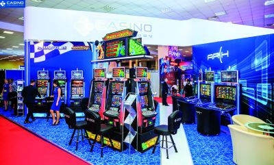 Casino Technology la Entertainment Arena Expo