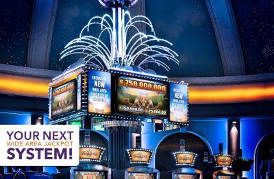 Următorul dumneavoastră Sistem Progresiv de Arie Largă!  Cel mai mare Jackpot de Cazino câștigat vreodată în Europa vine cu sistemul WAP de la DRGT