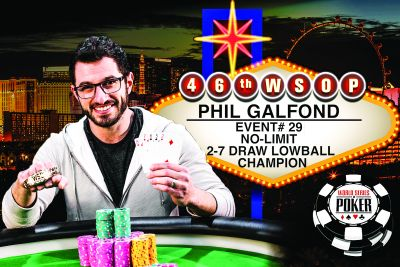 Phil Galfond, poker and ambitions