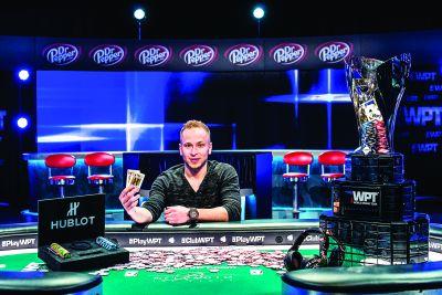 James Romero won WPT Five Diamond World Poker Classic