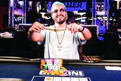 An ambitious poker player, Bryn Kenney knows what he wants