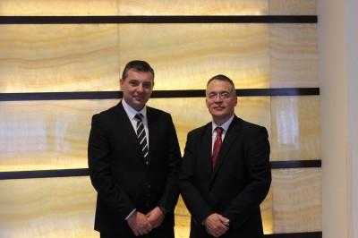 (Română) Vicepreședintele Oficiului Național pentru Jocuri de Noroc, domnul Valentin Korman, a preluat în coordonare Direcția Generală de Supraveghere și Control