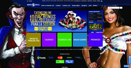 www.baumbet.ro  Prima platformă de gambling construită pe comportamentul jucătorului român