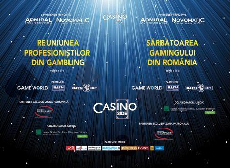 """PROGRAMUL EVENIMENTELOR """"ReUNIUNEA PROFESIONIȘTILOR DIN GAMBLING și SĂRBĂTOREA GAMINGULUI DIN ROMÂNIA"""""""