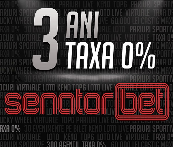 SENATORBET CELEBRATES 3 YEARS OF ACTIVITY!
