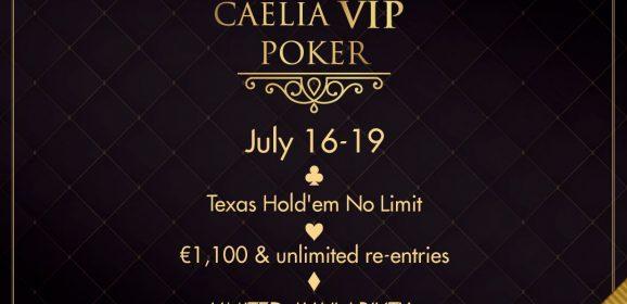 """PokerFest și Caelia anunță """"Caelia Beach Vip Poker Tournament"""", cel mai exclusivist turneu de poker al anului"""