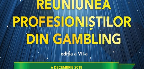 (Română) ReUNIUNEA PROFESIONIȘTILOR DIN GAMBLING 7 – 6 DECEMBRIE 2018, HOTEL NOVOTEL, SALA PARIS