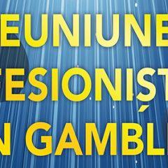 """(Română) Panelul """"2018, un an cu importante modificări ale cadrului de reglementare"""" isi face aparitia in programul evenimentului ReUniunea Profesionistilor din Gambling 7"""