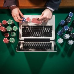 Monthly statement for the income realised by on-line gambling operators