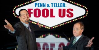 Penn și Teller, duo-magic în Vegas