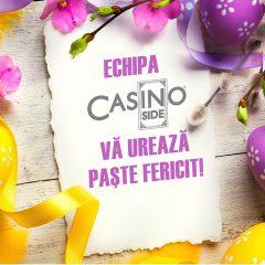 Echipa CASINO INSIDE va urează Paște fericit!