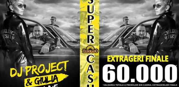 Pe 26 Septembrie DJ Project & Giulia vor sustine un concert in locatia ELDORADO din Bd Circumvalatiunii, Timisoara