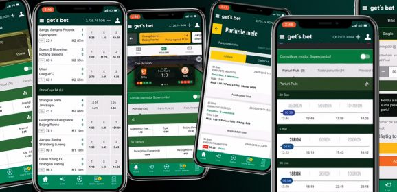 Bet trough your mobile phone at Get`s Bet