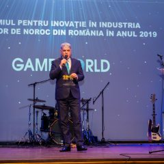 COMPANIA GAME WORLD A PRIMIT PREMIUL PENTRU INOVAȚIE ÎN INDUSTRIA JOCURILOR DE NOROC DIN ROMÂNIA ÎN 2019
