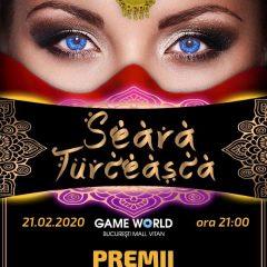 "Game World Bucuresti Mall va invita la o ""Seara turceasca"""