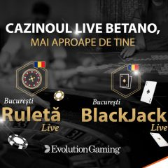 (Română) Cazinoul Live Betano, mai aproape de tine. Acum și cu mesele Evolution!