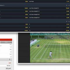 Pariurile pe tenis virtual – între loterie și sport